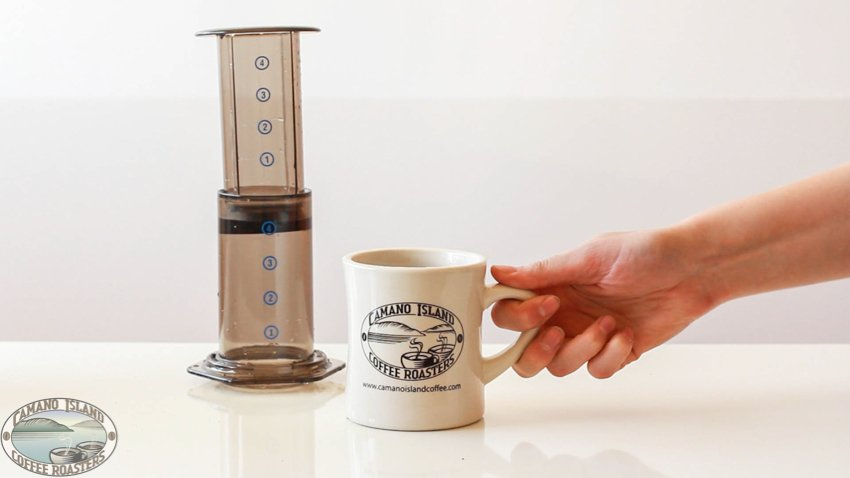 aeropress coffee brew